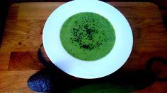 #Grüne #Gurken-#Gazpacho mit #Bärlauch