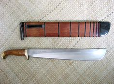 Typical blade found in the jungles of Indonesia, used in Silat