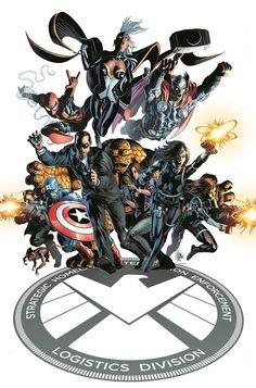S.H.I.E.L.D. - Mike Deodato Jr.
