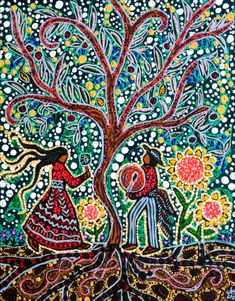 "Via Patricia Vervioet: ""Leah Dorion Gallery 2011."""