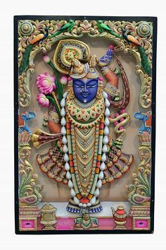 Shree nath ji Lord Krishna Images, Radha Krishna Pictures, Radha Krishna Photo, Krishna Photos, Krishna Art, Shree Krishna, Krishna Leela, Ganesh Images, Pichwai Paintings