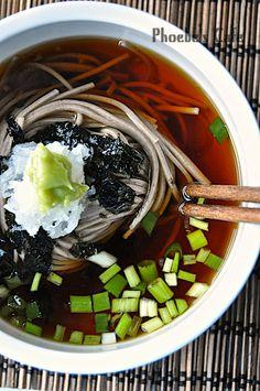 쯔유 만들기, 모밀 국수 레시피, 일본 요리,