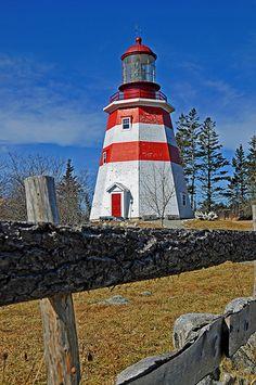Seal Island Lighthouse, Barrington, Nova Scotia.
