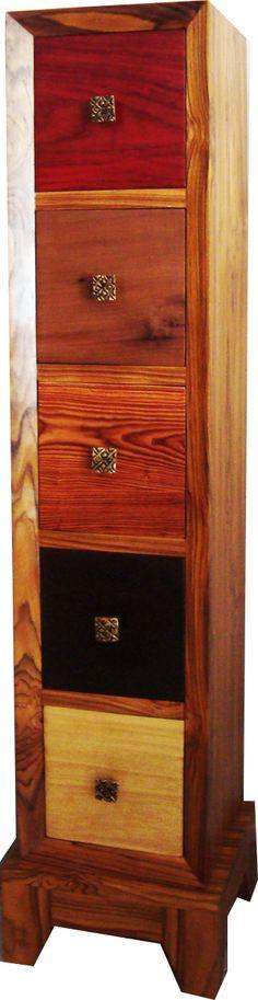 meuble 20 tiroirs en bois pr cieux d 39 afrique wengu padouk frak sap li link dimb veine. Black Bedroom Furniture Sets. Home Design Ideas