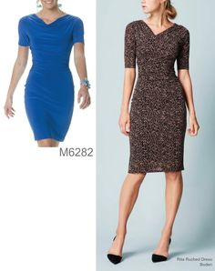 Sew the Look: McCall's M6281 shirred dress pattern