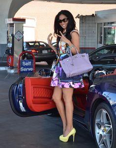 kimora lee simmons in pastels Hermes Birkin, Birkin Bags, Fashion Models, Fashion Outfits, Womens Fashion, Pin Up Style, My Style, Kimora Lee Simmons, Baby Phat