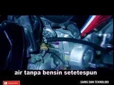 BBM Sepeda Motor ini Berbahan Bakar Air !