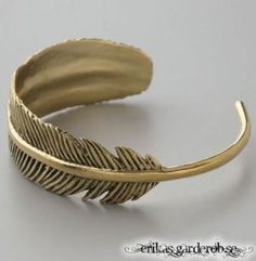Fashion New Design Vintage Exquisite Feather Cuff Bracelet For Women Trendy Jewelry Cool Bangles Bijoux Wholesale Supernatural Style Trendy Jewelry, Jewelry Accessories, Fashion Jewelry, Fashion Bracelets, Fashion Fashion, Bird Jewelry, Brass Jewelry, Cheap Fashion, Jewelry Trends