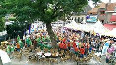 Stadsdag Tilburg tijdens Purple 2015 #fontys #denkgroter #purple
