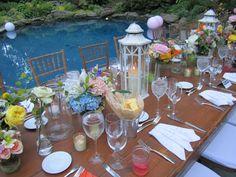 Fine garden wedding at it's best.  Flowers by Victoria Clausen.@Victoria Clausen Florals