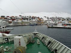 Honningsvag - northernmost city on the mainland of Norway