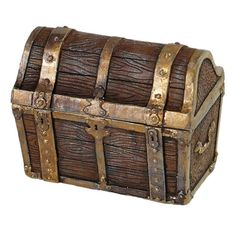 <div>Open this treasure chest to discover a pirate's dream—more gold and jewels than you can car...