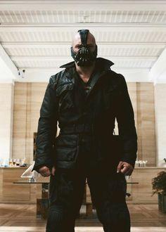 Hotttest...Villian....Ever.... Bane - Tom Hardy