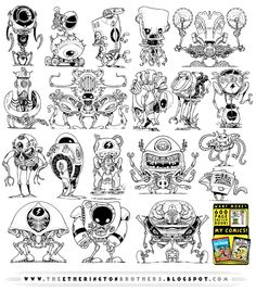 19 NEW Robot concepts by STUDIOBLINKTWICE on DeviantArt