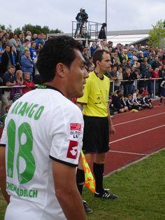 Juan #Arango beim Freundschaftsspiel #Borussia #Mönchengladbach - #Birmingham City in #München-Laim.