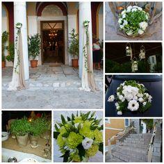 Στολισμός γάμου στον Ιερό Ναό Αγίου Ιωάννη στο Λεωνίδιο. Βασίλης & Γιάννα!!. www.grgamos.com