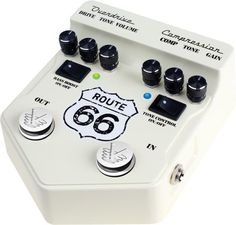 Visual Sound V2 Series V2RT66 Route 66 Overdrive and Compression
