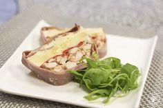 Cocinando entre Olivos: Pastel de bacón de pavo, pollo y patatas. Receta paso a paso
