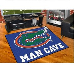 "Florida Gators Man Cave All Star Area Rug Floor Mat 34"" X 45"""