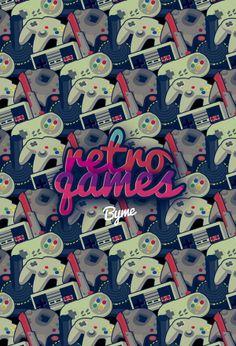 Retro Games by Leonardo Isidro Byme, via Behance