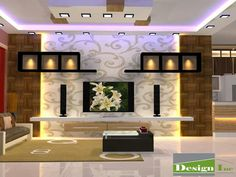 50 wall tv cabinet designs ideas for cozy family room 23 – Decoration Ideas Modern Tv Room, Modern Tv Wall Units, Modern Art, Tv Unit Decor, Tv Wall Decor, Wall Tv, Living Room Tv Unit Designs, Ceiling Design Living Room, Lcd Wall Design