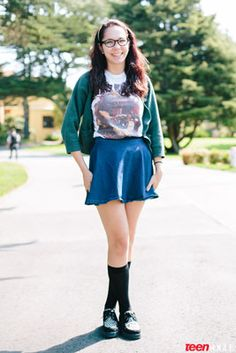 Our Favorite Back-to-School Looks from College Students Across the Country - my kid is in here!
