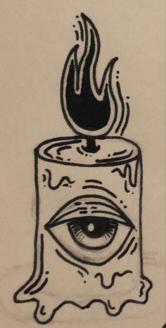 Indie Drawings, Dark Art Drawings, Art Drawings Sketches Simple, Pencil Art Drawings, Tattoo Design Drawings, Doodle Drawings, Drawing Ideas, Arte Grunge, Grunge Art