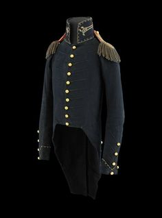 "Andrew Jackson's uniform coat he wore at the Battle of New Orleans during the War of 1812, which recently celebrated its Bicentennial on January 8. The coat (44"" H x 12"" W) was also worn by Jackson when he sat for his portrait by artist Ralph E. W. Earl, circa 1815."
