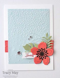 Botanical Gardens from Stampin' Up! UK Demonstrator Tracy May #GDP022