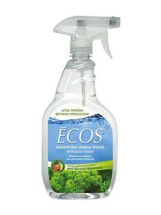 To Taλκ και η Earth Friendly Products-Hellas προσφέρουν σε δέκα τυχερούς φίλους μας από ένα σετ τεσσάρων πράσινων καθαριστικών Ecos.
