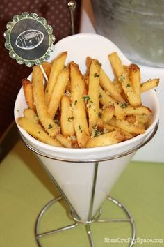 Best Ever Fantasy Football Party Garlic Parmesan Fries