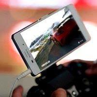 O Xperia Z3 da Sony como tela para o PlayStation 4 - http://updatefreud.blogspot.com.br/2014/11/O-Xperia-Z3-da-Sony-como-tela-para-o-PlayStation-4.html