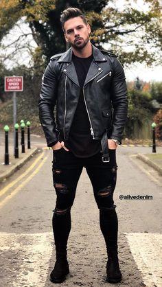 Yesssss!! #blackleather