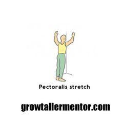 Pectoralis Strecth - Grow Taller Exercises