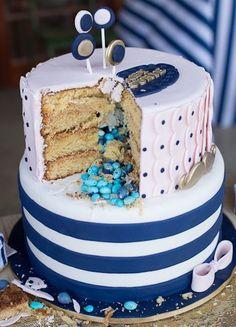Bow Gender Reviel Cake Ideas