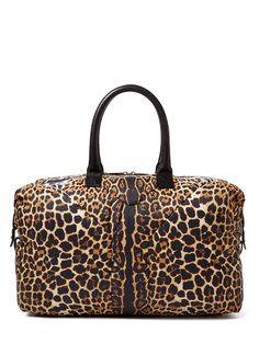 Leopard Print Nylon Easy Bag
