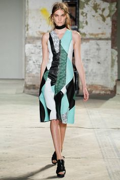 Can't wait for the Proenza Schouler patchwork dresses to arrive in Moda Operandi.