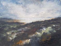 Brean Sands Watercolour Painting