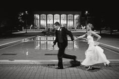 Wedding at Miami University...Haven't I ALWAYS said I want a picture in that fountain! This is beautiful! #givesmechills @Christi Grimes @Rachel Foster @Cara Contini @Katie Kent