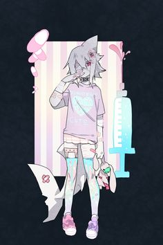 Wadanohara and the Great Blue Sea pastel goth
