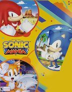 Sonic Mania Promotional Poster - Sonic on Green Hill Zone, Tails on Studiopolis Zone and Knuckles on Mirage Saloon Zone. Hedgehog Game, Sonic The Hedgehog, Sonic Mania, Eggman, Sega Mega Drive, 1 Logo, The Sonic, Pixel Art, Anime Girls