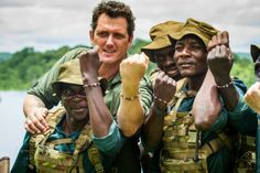 An Australian man is using his special forces experience to battle animal poachers in the African country on Zimbabwe to protect endangered wildlife in the region. Damien was . Australian Men, African Countries, Special Forces, Beautiful Hands, Conservation, Poppy, 4x4, Charity, Battle