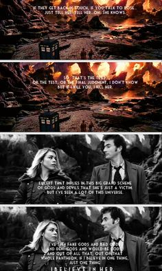 Every time he mentions Rose, I get a lump in my throat Bad Wolf Doctor Who, Rose And The Doctor, Bbc Tv Shows, Twelfth Doctor, Rory Williams, Fantasy Fiction, Don't Blink, Rose Tyler, Book Tv