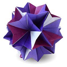 折り紙・くすだま-桔梗