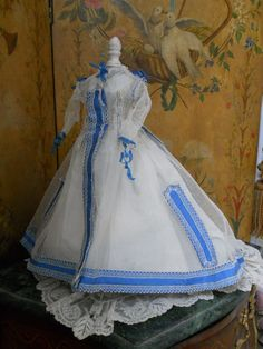~~~ Superb all Original Early Antique Couturier Fashion Gown / Huret from whendreamscometrue on Ruby Lane