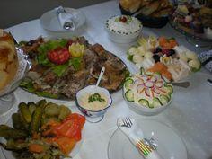 Food Decor/ celebration of Sent Michel Arhangel/ on Serbian way