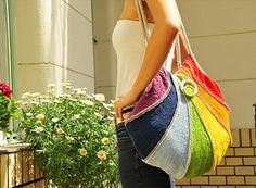 Rainbow Bag by Andrea Juhasz