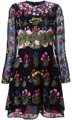 Valentino 'Primavera' embroidered dress