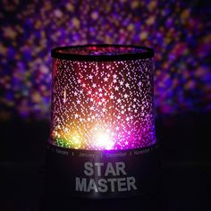 Starry Galaxy Sky Projector Cosmos Romantic Color Changing LED LAMP Gift Set | Embark on a surreal cosmic adventure ride, surrounded by celestial stars and ethereal lights with this unique color changing LED light projector lamp. A perfect gift for your child to indulge in a star studded spectacle of galactic lights and colors. This cosmos projector works best as a night lamp for kids to create a magical ambiance and also as a perfectly Romantic Beauty Night Light Projector to bring quixotic…