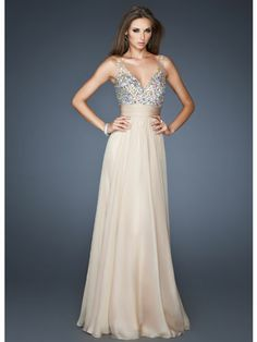 la femme evening dresses on sale factory outlet and fast shipping for you service! one unifying feature - Offer La Femme Dresses. Nude Evening Dresses, Evening Party Gowns, Sequin Bridesmaid Dresses, Homecoming Dresses, Wedding Dresses, Dress Prom, Prom Gowns, Wedding Bride, Bridesmaids